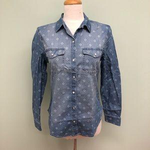 Tahari Denim Shirt (PM593)